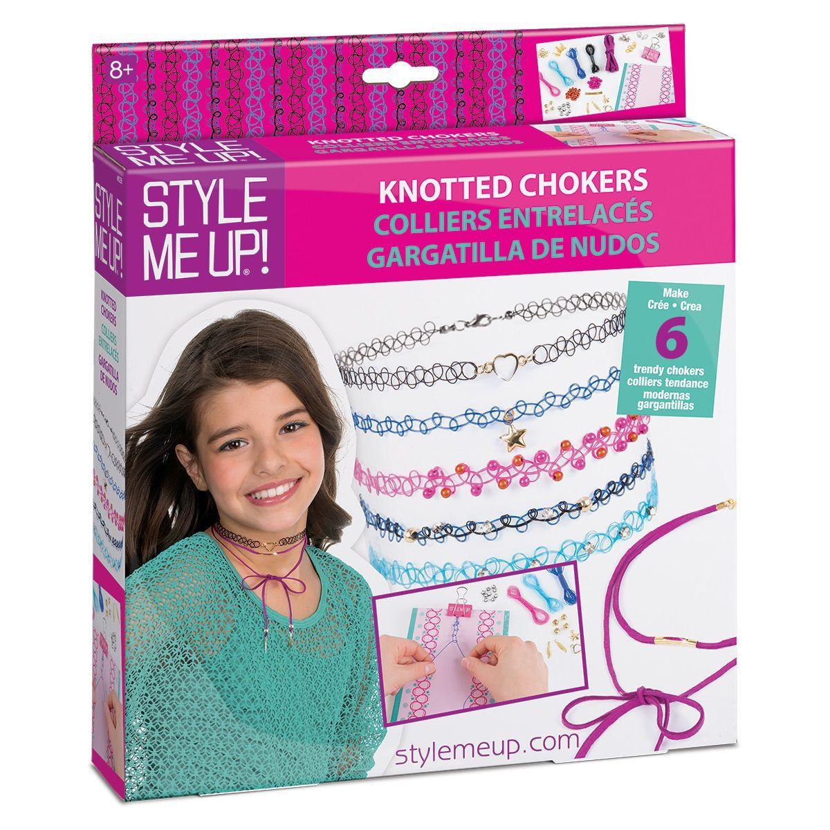 Набор Style Me Up для создания чокеровЮная модница, салон красоты<br>Набор Style Me Up для создания чокеров<br>