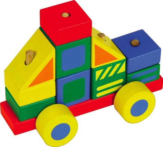 Конструктор - автомобиль 3Кубики<br>Конструктор - автомобиль 3<br>