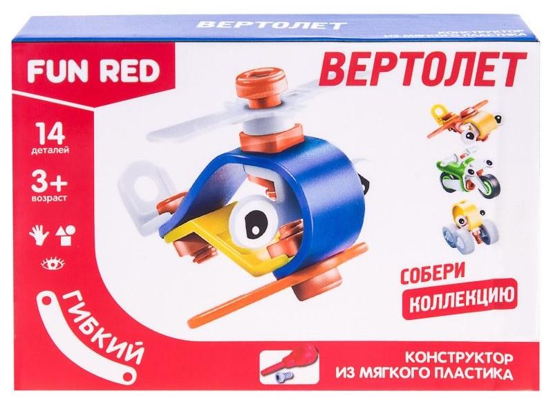 Купить Гибкий конструктор – Вертолет, 14 деталей, Fun Red