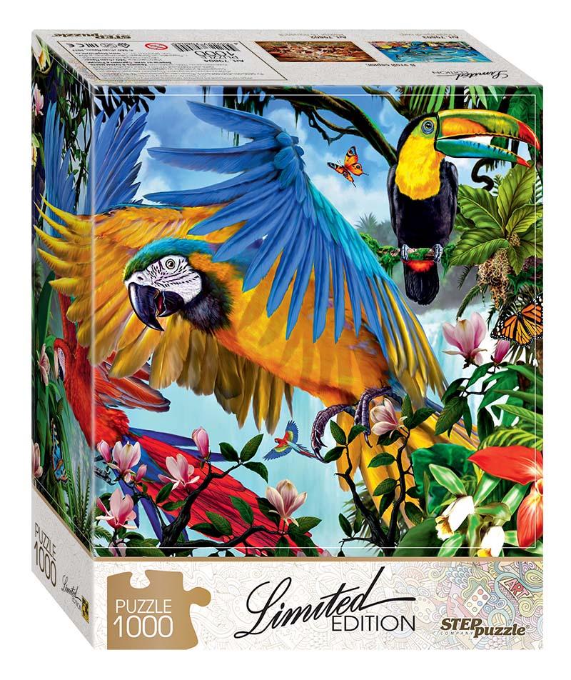 Пазл - Попугаи, 1000 деталей по цене 231