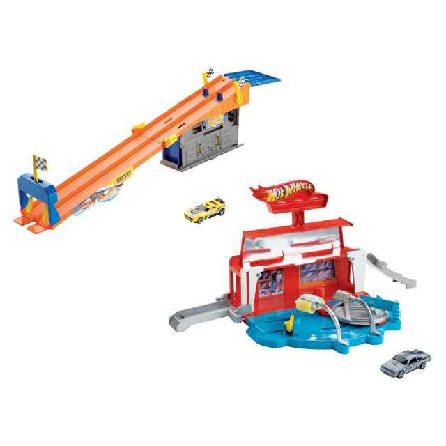 Купить Набор игровой из серии Hot wheels - Автомойка/Гараж, 2 вида, Mattel