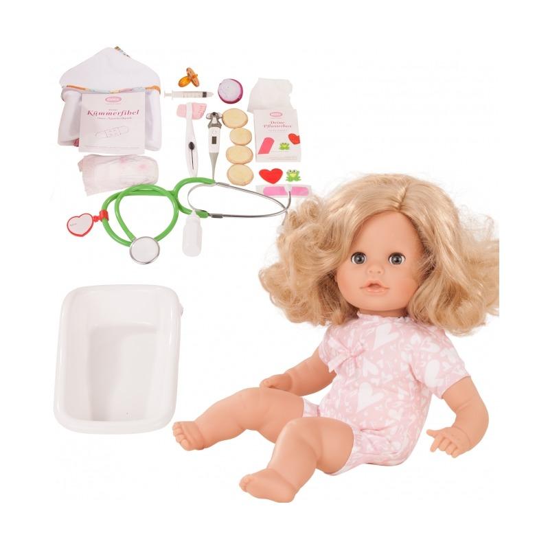 Купить Кукла - Аквини доктор, 33 см, 47 аксессуаров, Gotz