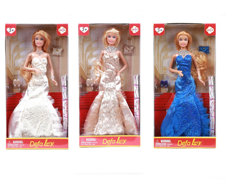 Купить Кукла - Светский раут, с аксессуарами, Defa Lucy