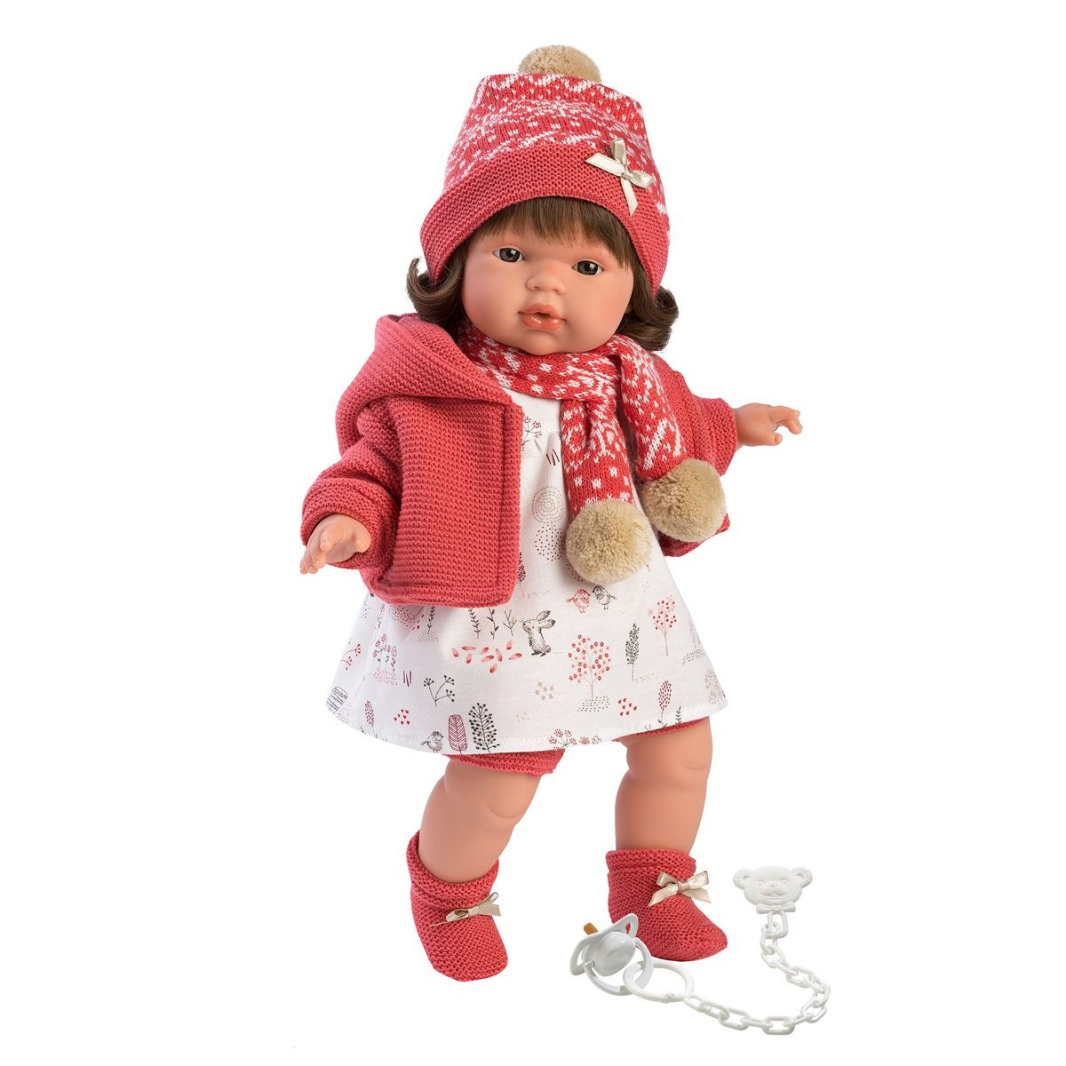 Купить Интерактивная кукла - Лола, 38 см, со звуком, Llorens Juan