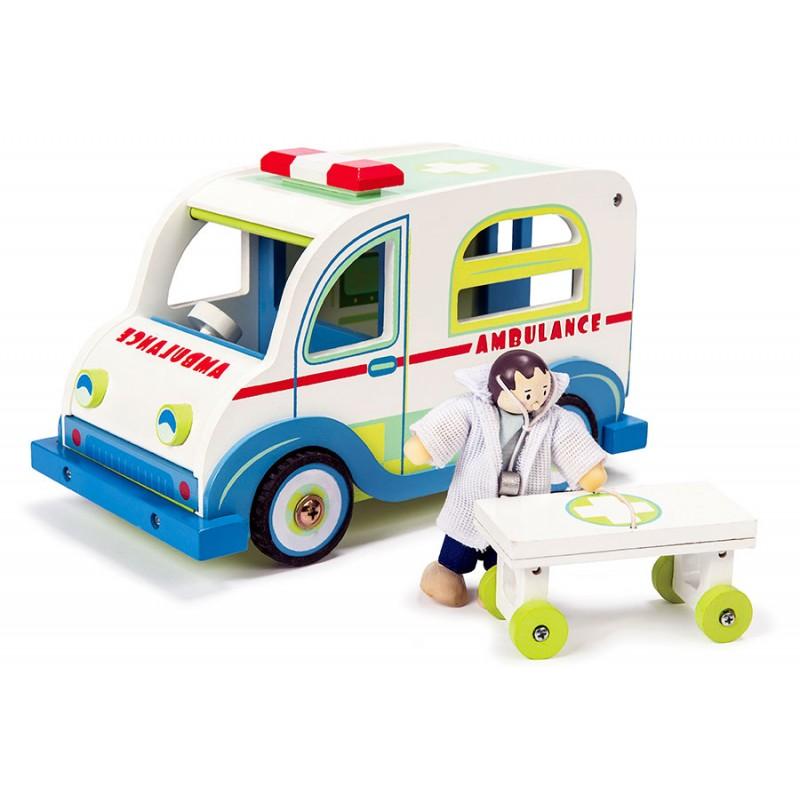 Игровой набор «Скорая помощь с доктором»Наборы доктора детские<br>Игровой набор «Скорая помощь с доктором»<br>