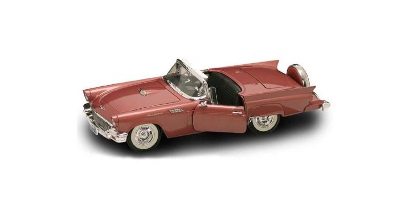 Коллекционный автомобиль 1957 года - Форд Thunderbird, масштаб 1/18 от Toyway