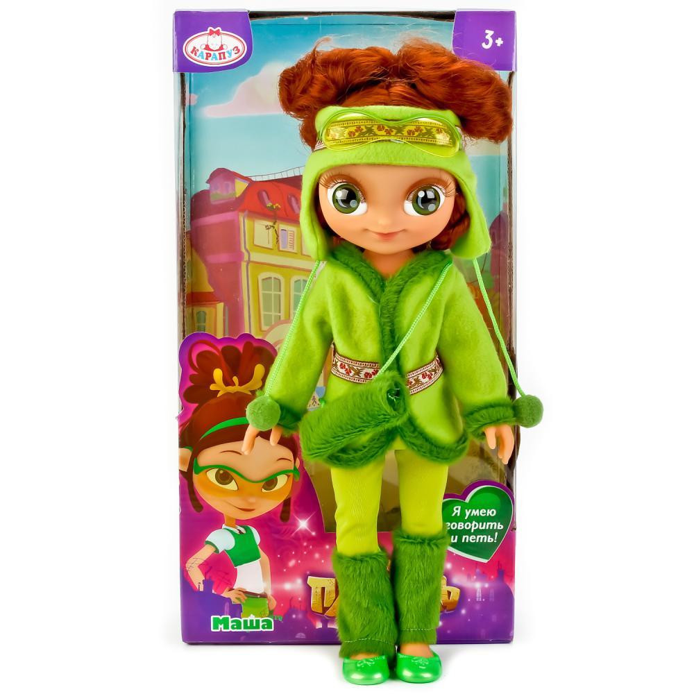 Интерактивная кукла Сказочный патруль – Маша в зимней ...