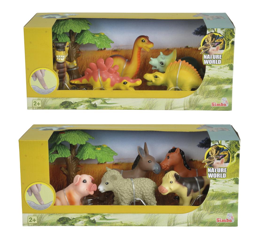 Игровой набор - Мягкие животные, 10 смЖизнь динозавров (Prehistoric)<br>Игровой набор - Мягкие животные, 10 см<br>