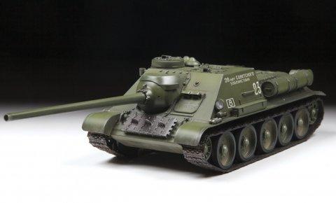 Купить Сборная модель - Советский истребитель танков СУ-100, ZVEZDA