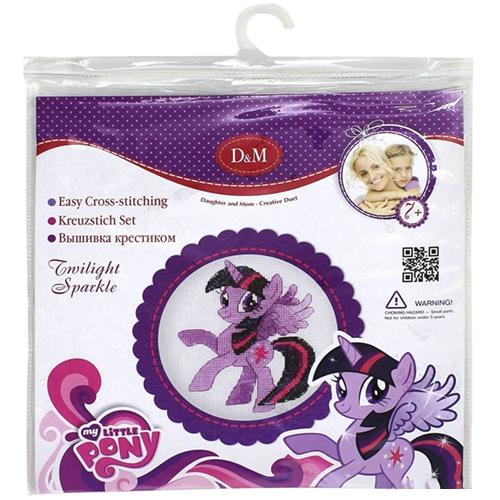 Набор для вышивания крестиком My Little Pony - Сумеречная искоркаСкидки до 70%<br>Набор для вышивания крестиком My Little Pony - Сумеречная искорка<br>