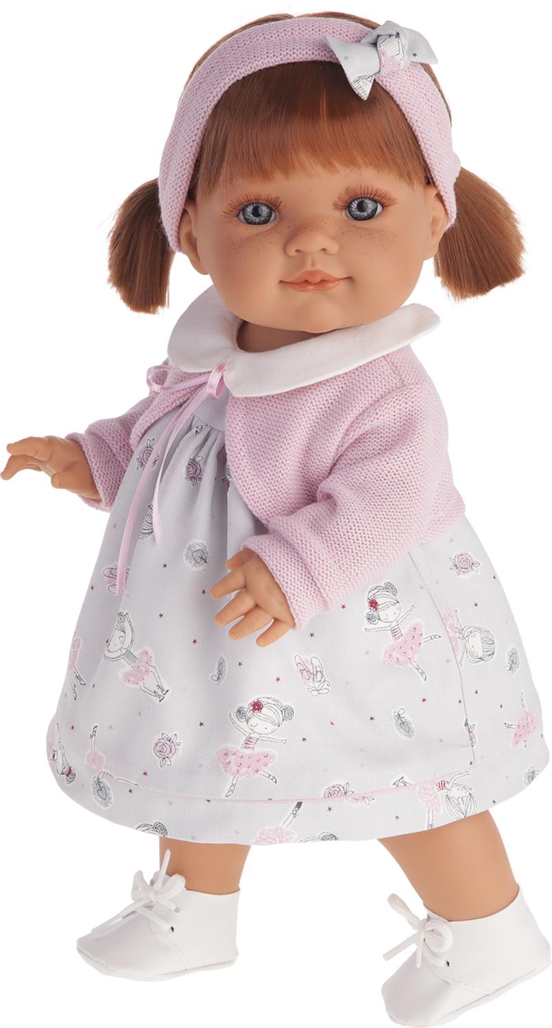 Кукла Эвелина, 38 см.Куклы Антонио Хуан (Antonio Juan Munecas)<br>Кукла Эвелина, 38 см.<br>