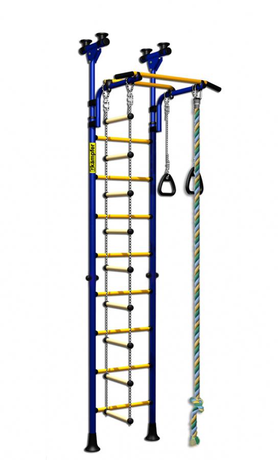 Детский спортивный комплекс Kampfer Strong Kid Ceiling, сине-желтый, ДСКМ-2-8.06.Г1.490.01-14