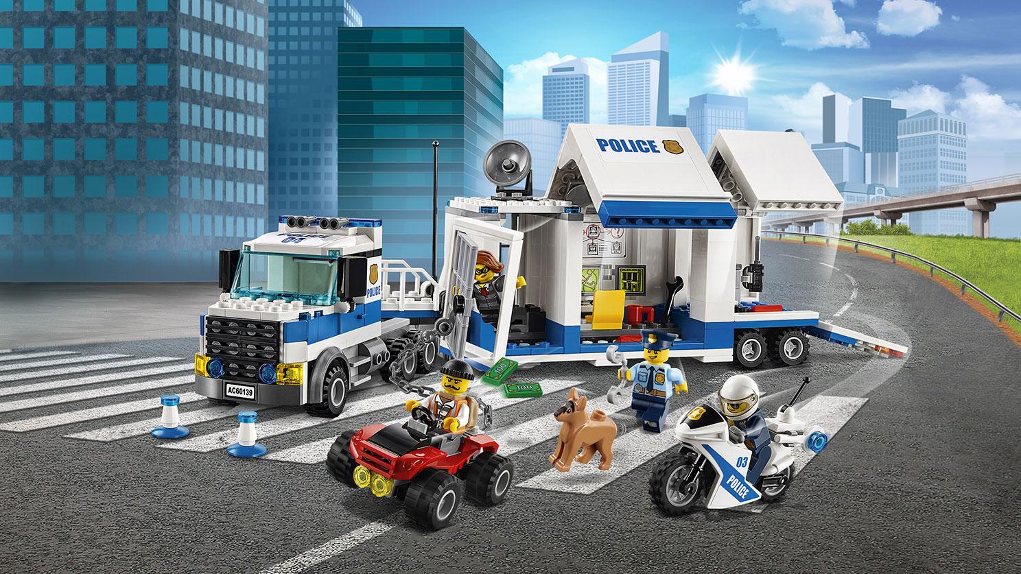 LEGO City. Мобильный командный центр