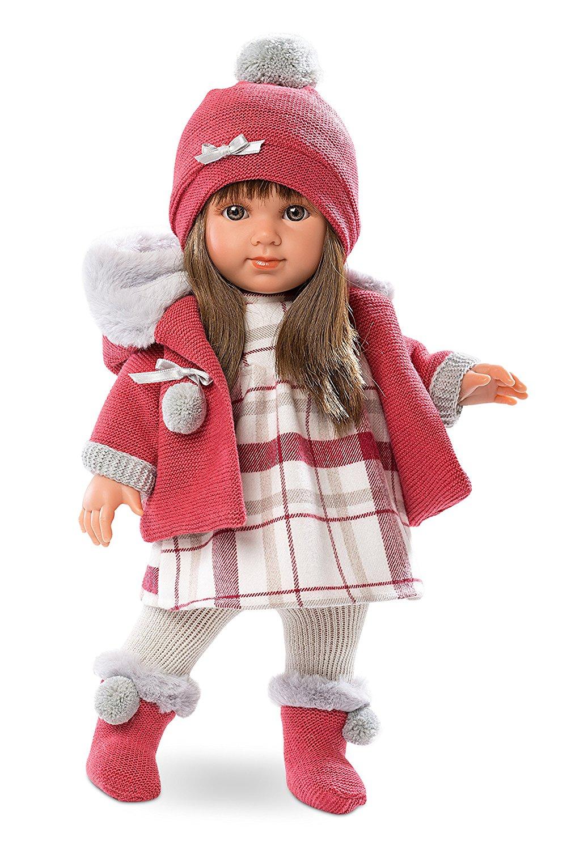 Кукла Елена в шапочке, 35 см.Испанские куклы Llorens Juan, S.L.<br>Кукла Елена в шапочке, 35 см.<br>