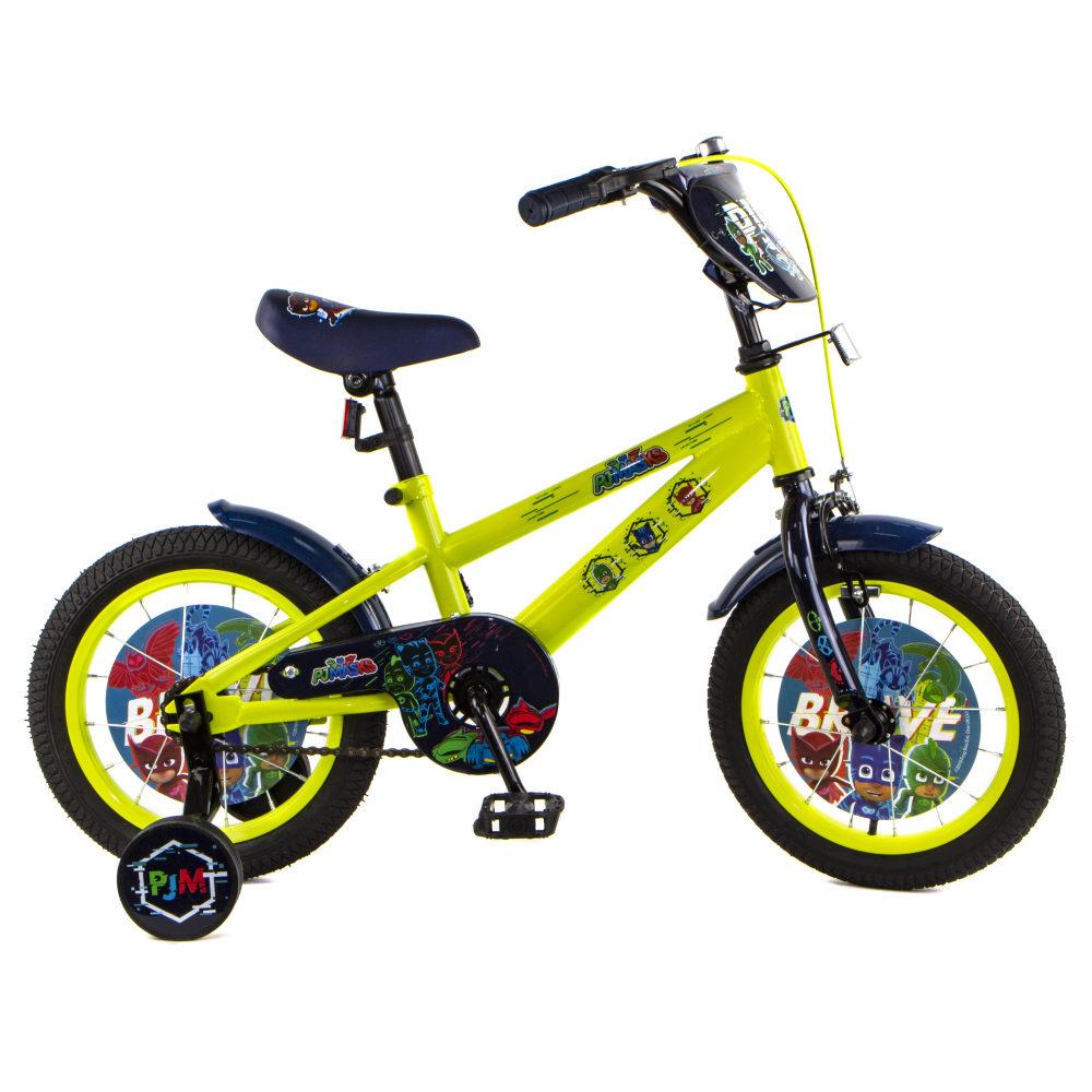 Купить Детский велосипед PJ Masks, колеса 14 , стальная рама, Navigator