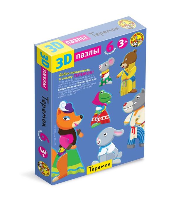 Пазлы 3D Терем-теремокПазлы для малышей<br>Пазлы 3D Терем-теремок<br>