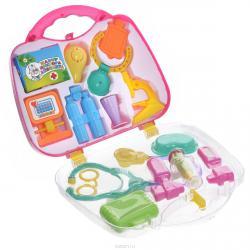 Набор доктора Айболита, в пластиковом чемоданеНаборы доктора детские<br>Набор доктора Айболита, в пластиковом чемодане<br>