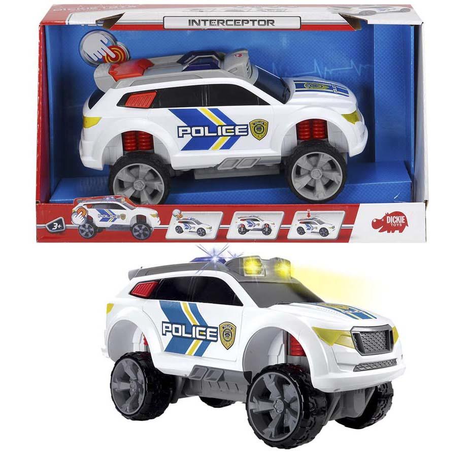 Полицейский джип со свободным ходом, свет и звукПолицейские машины<br>Полицейский джип со свободным ходом, свет и звук<br>