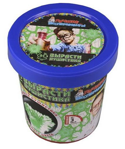Купить Микро-набор для экспериментов - Вырасти пушистика зеленого, Научные технологии