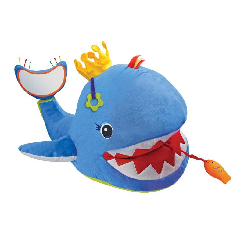 Мягкая игрушка «Большой музыкальный кит»Говорящие игрушки<br>Мягкая игрушка «Большой музыкальный кит»<br>