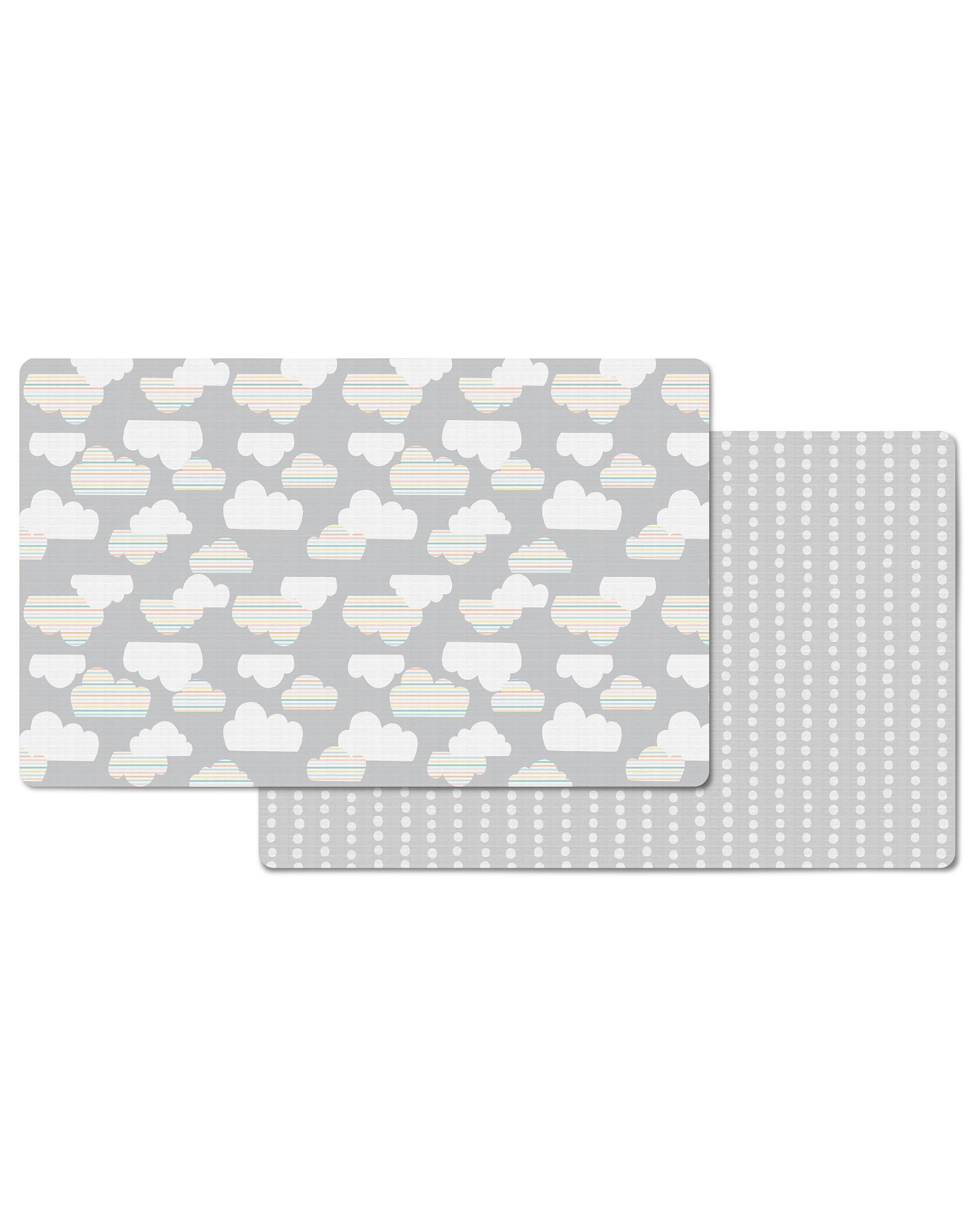 Купить Напольный двусторонний коврик Тучки, 218 х 132 см., Skip Hop