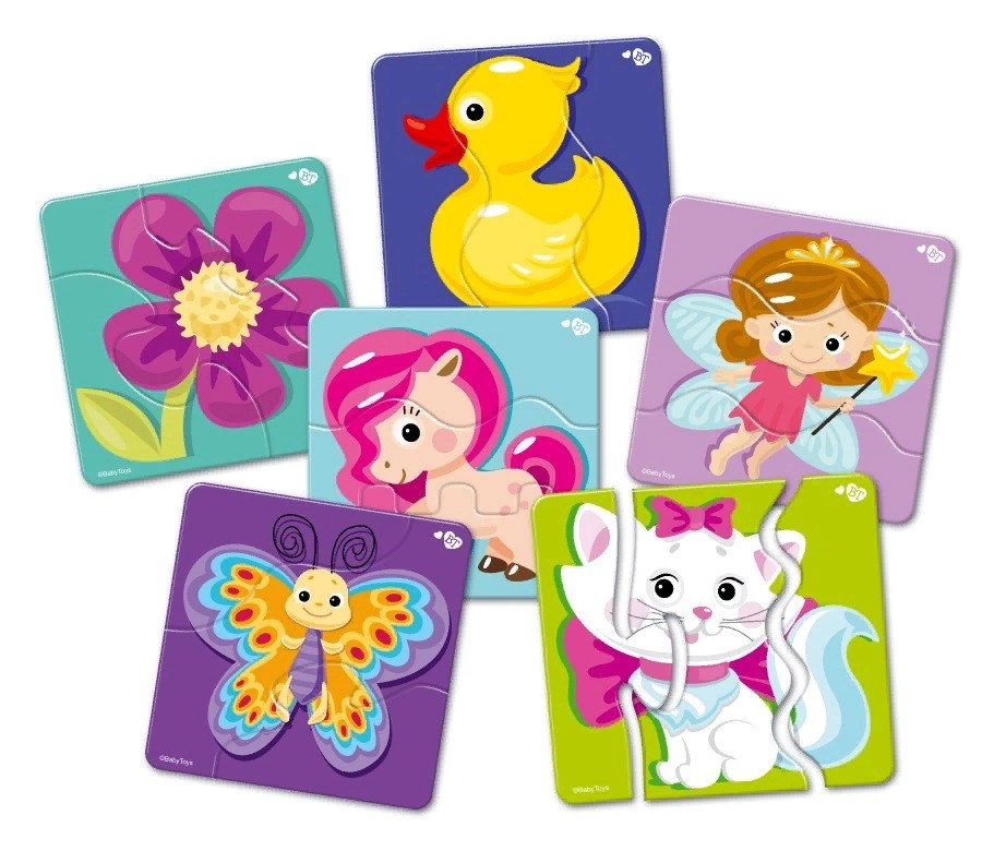 Купить Пазлы-макси Зигзаг - Baby Toys. Для принцесс, 18 элементов, Десятое королевство
