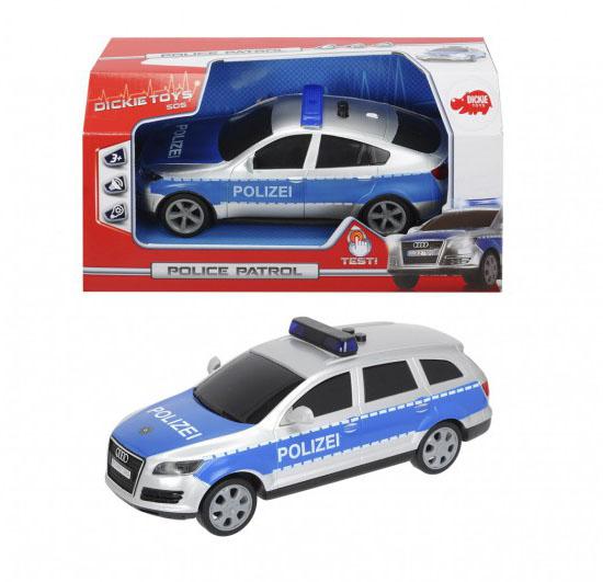 Фрикционный Полицейский внедорожник, звук и светПолицейские машины<br>Фрикционный Полицейский внедорожник, звук и свет<br>