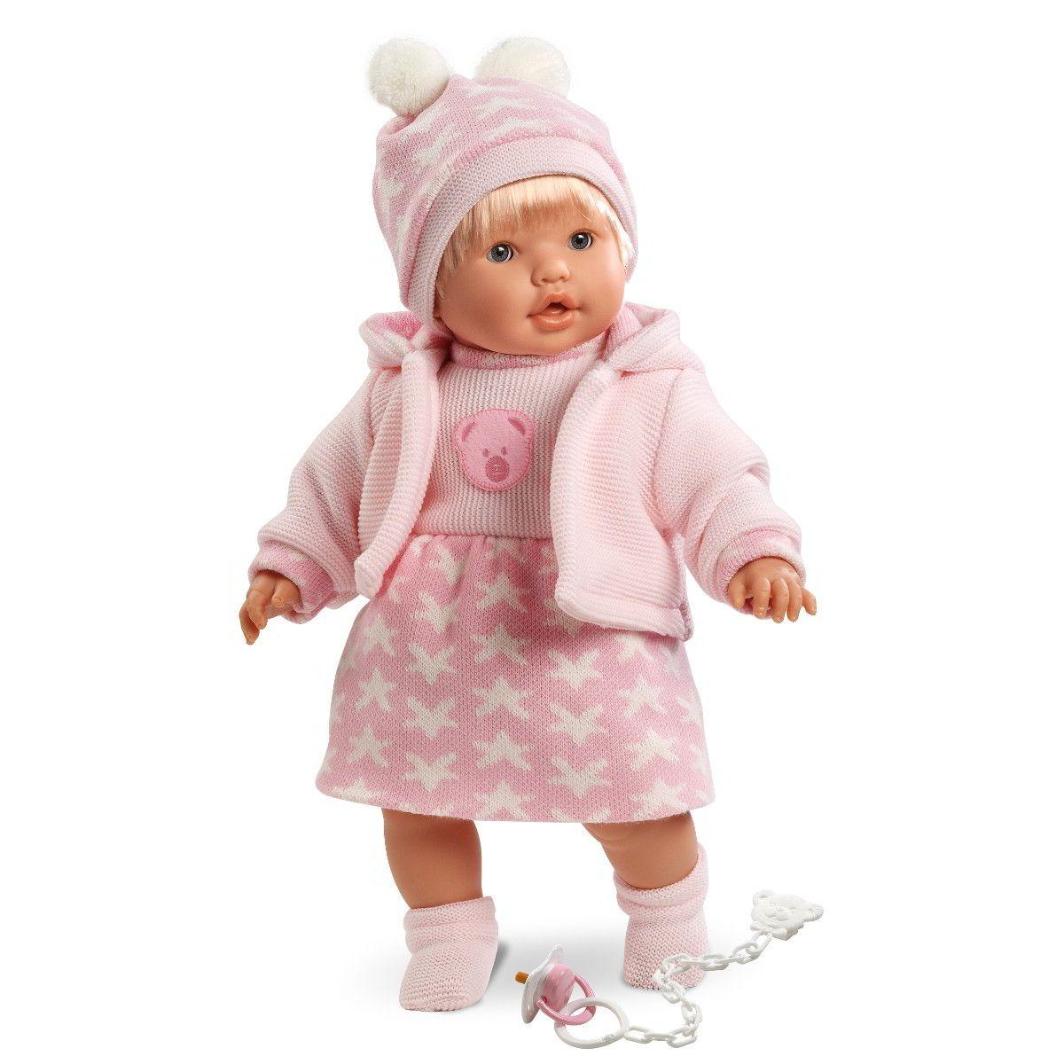 Кукла Ника, 48 смИспанские куклы Llorens Juan, S.L.<br>Кукла Ника, 48 см<br>