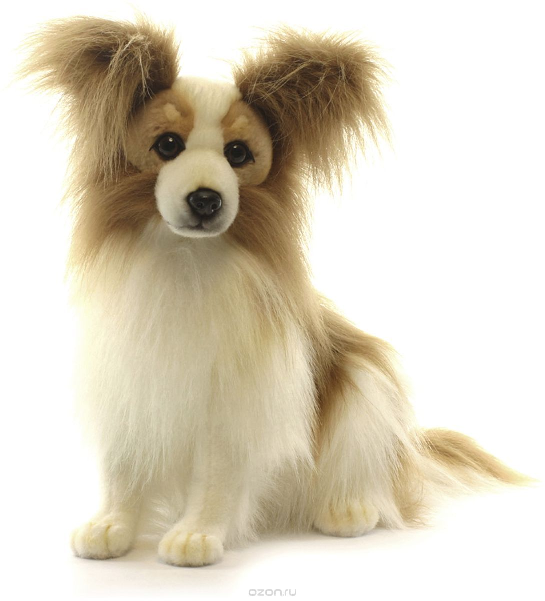 Купить Мягкая игрушка – Собака породы папийон. 41 см, Hansa