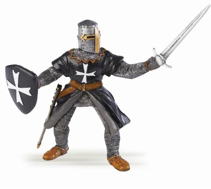 Фигурка рыцаря Госпитальера с мечомФигурки Papo<br>Фигурка рыцаря Госпитальера с мечом<br>