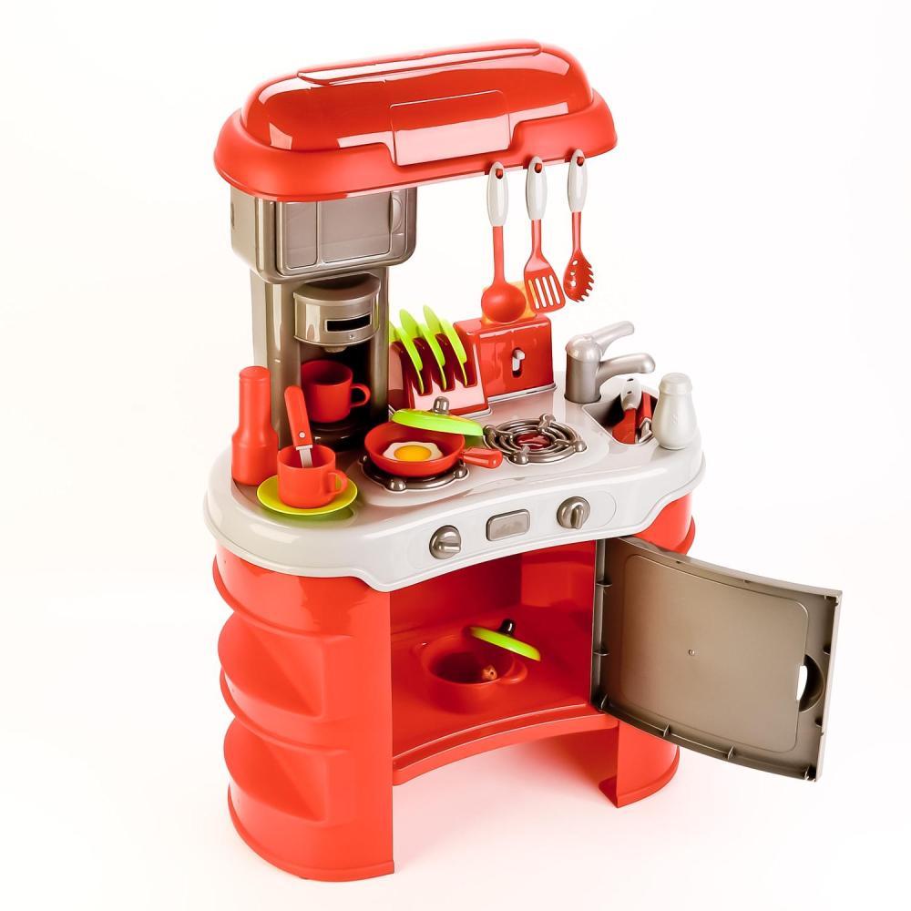 Игровой набор - Кухня с аксессуарами, свет, звук