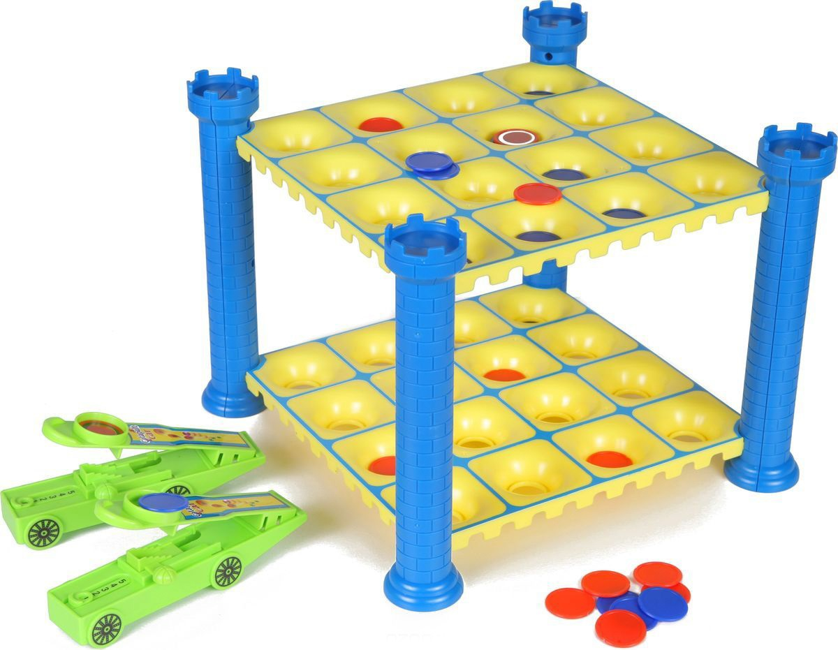 Настольная игра - Катапульта с дискамиРазвивающие<br>Настольная игра - Катапульта с дисками<br>
