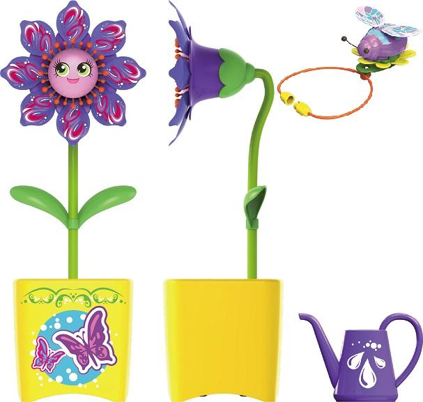 Magic Blooms Интерактивная игрушка - Волшебный цветок с ожерельем и волшебным жучком