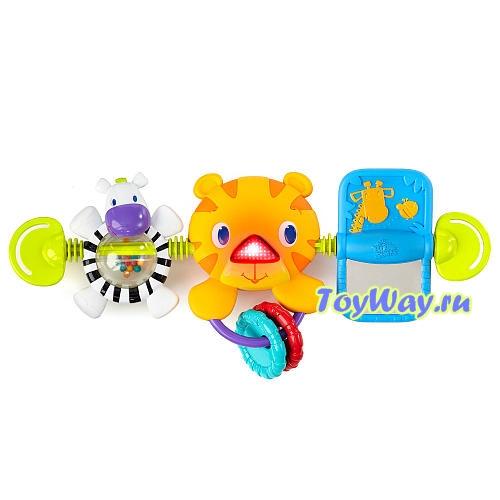 Развивающая игрушка для коляски ТигренокРазвивающая дуга. Игрушки на коляску и кроватку<br>Развивающая игрушка для коляски Тигренок<br>
