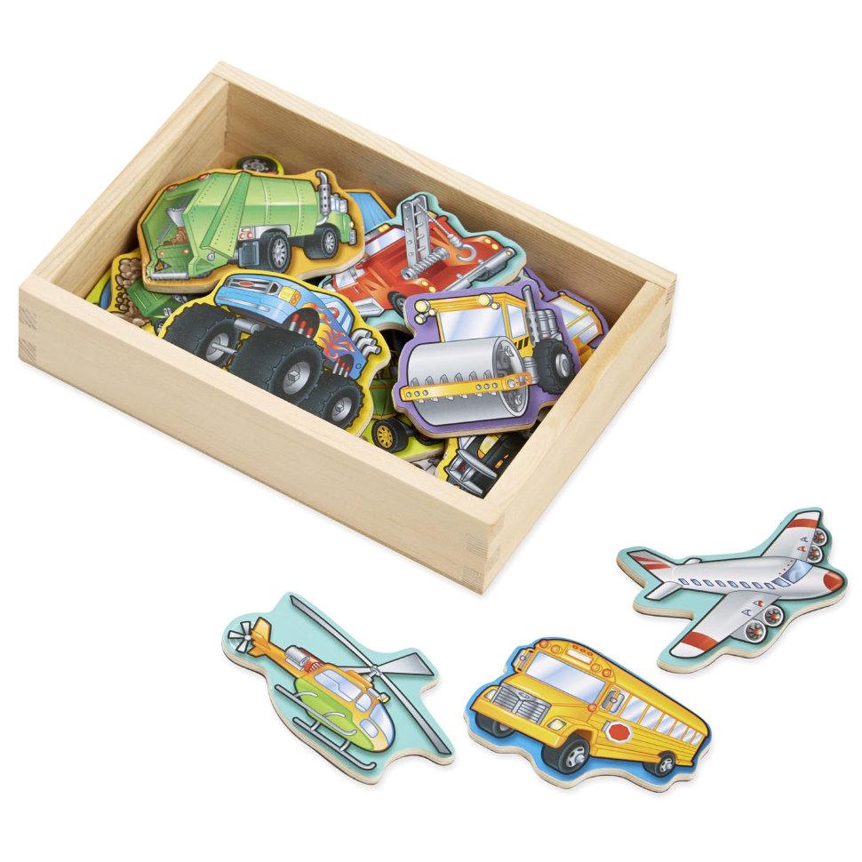 Игровой набор – Автомобили из серии Магнитные игрыРазное<br>Игровой набор – Автомобили из серии Магнитные игры<br>