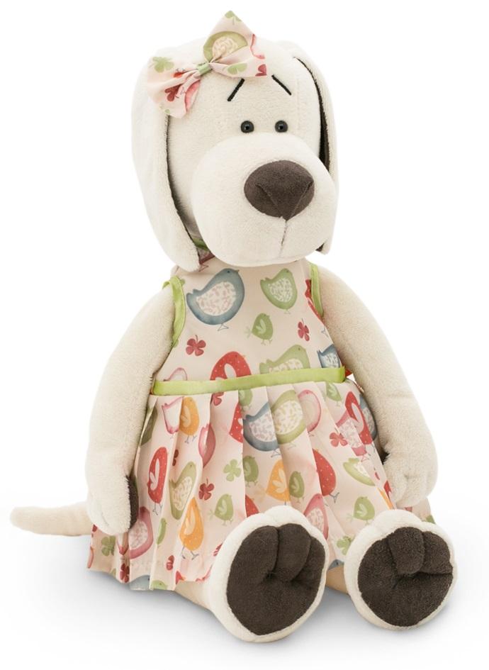 Мягкая игрушка Life  Собачка Лапуська. Ранняя пташка, 30 см - Собаки, артикул: 173992