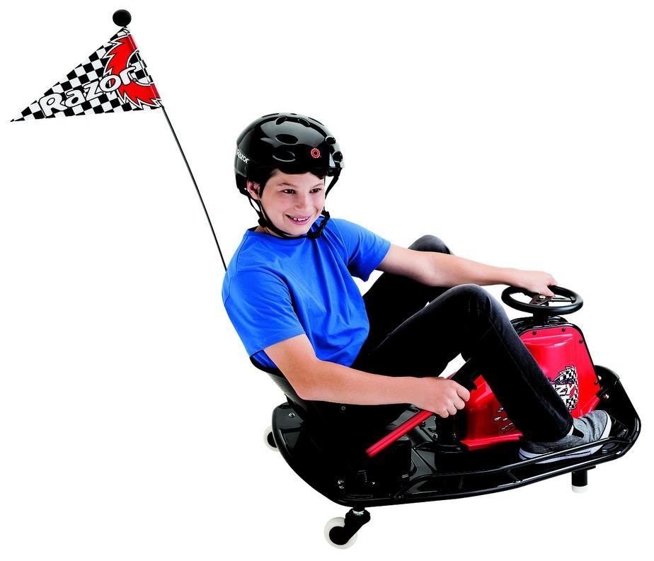Электро дрифт-карт Crazy Cart 2015, красныйЭлектромобили, детские машины на аккумуляторе<br>Электро дрифт-карт Crazy Cart 2015, красный<br>