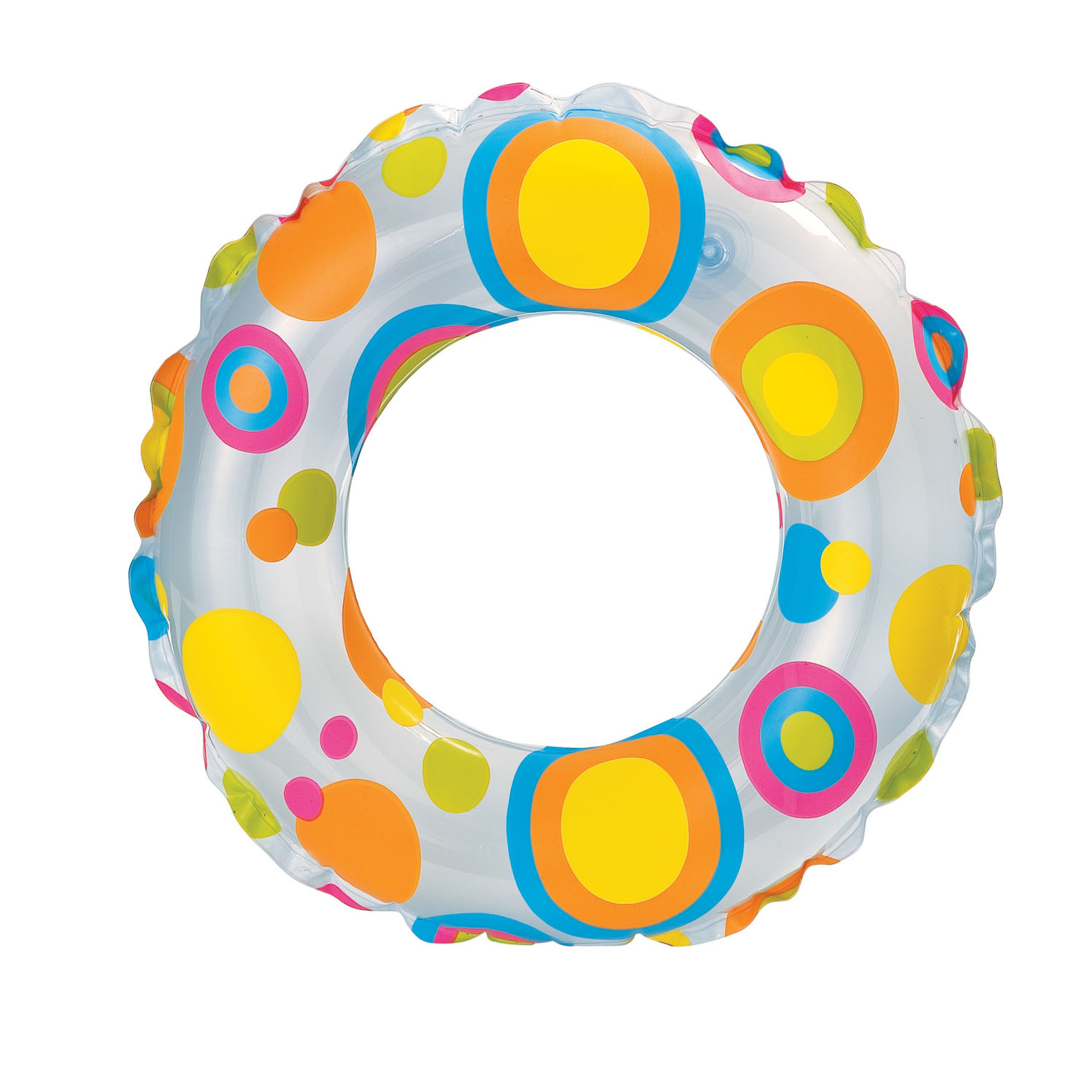 Купить Круг надувной Lively Print Swim Rings, Intex