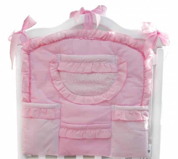 Купить Карман на кроватку – Малышка, розовый, Bombus