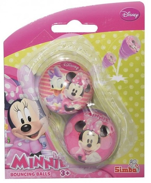 Мячик-попрыгунчик серии Минни МаусМинни Маус (Minnie Mouse)<br>Мячик-попрыгунчик серии Минни Маус<br>