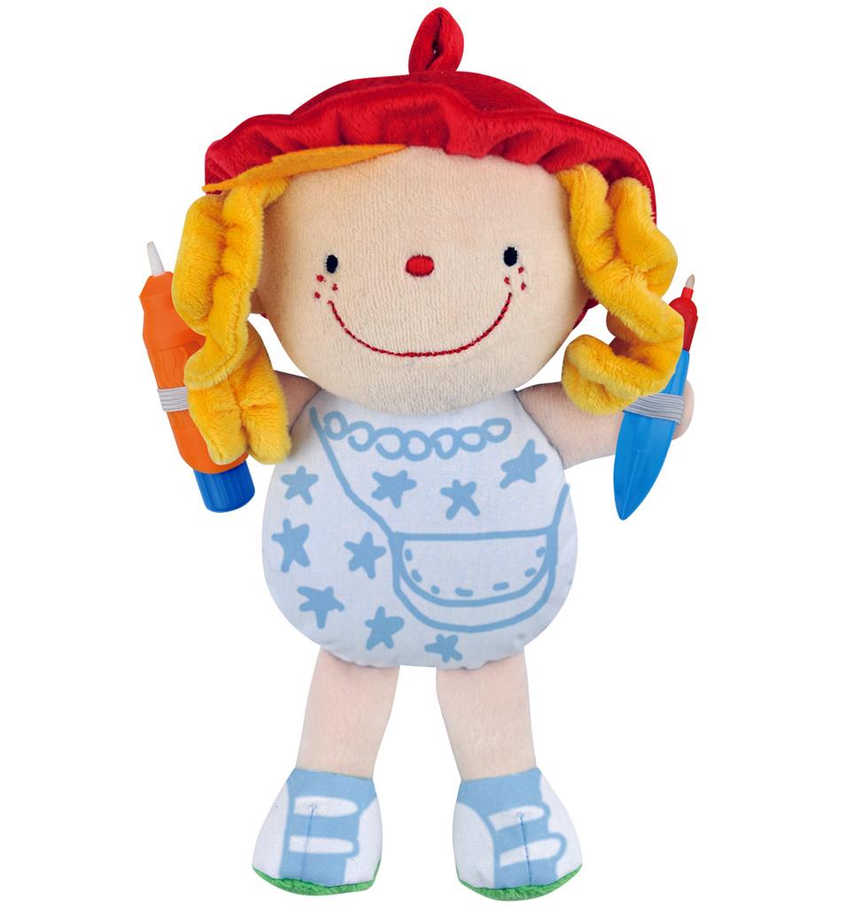 Мягкая кукла Джулия из серии Что носитьРазвивающие игрушки K-Magic от KS Kids<br>Мягкая кукла Джулия из серии Что носить<br>