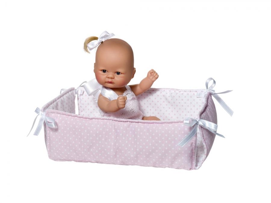 Кукла пупсик с манежем, 20 смКуклы ASI (Испания)<br>Кукла пупсик с манежем, 20 см<br>