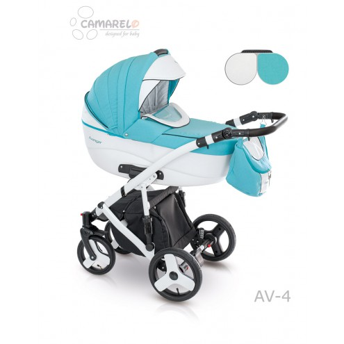 Детская коляска Camarelo Avenger Lux 2 в 1, цвет - Av_04Детские коляски 2 в 1<br>Детская коляска Camarelo Avenger Lux 2 в 1, цвет - Av_04<br>