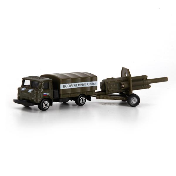 Металлическая машина 7,5 см с пушкойВоенная техника<br>Металлическая машина 7,5 см с пушкой<br>