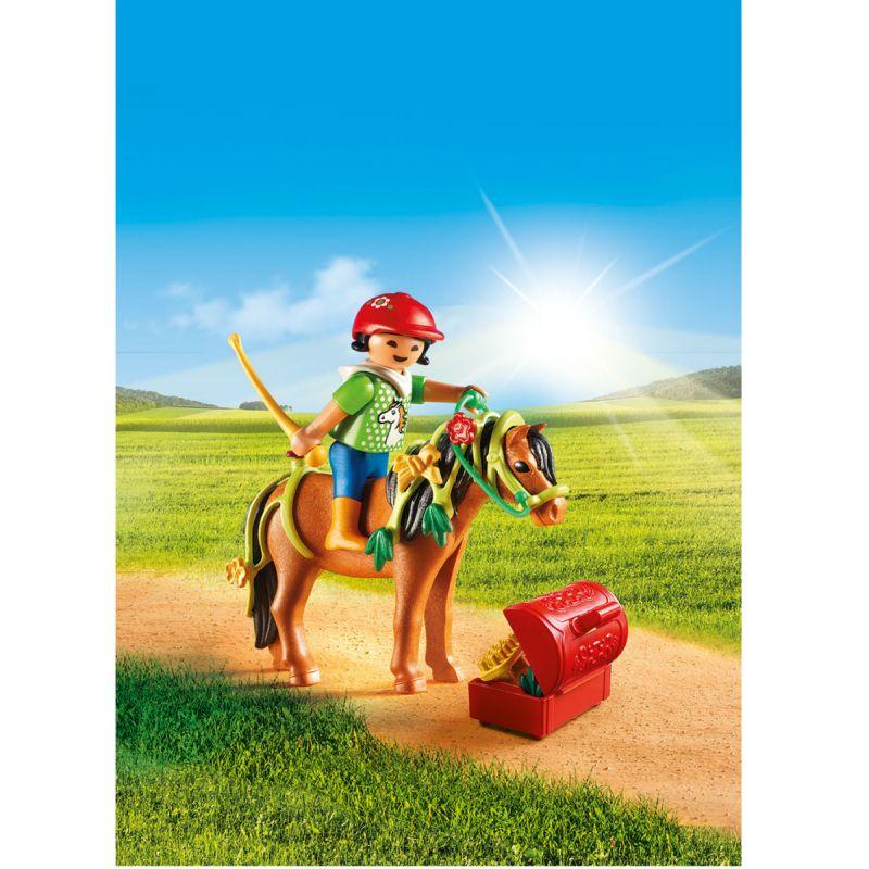 Игровой набор Ферма - Конюх с пони БлумКонный клуб<br>Игровой набор Ферма - Конюх с пони Блум<br>
