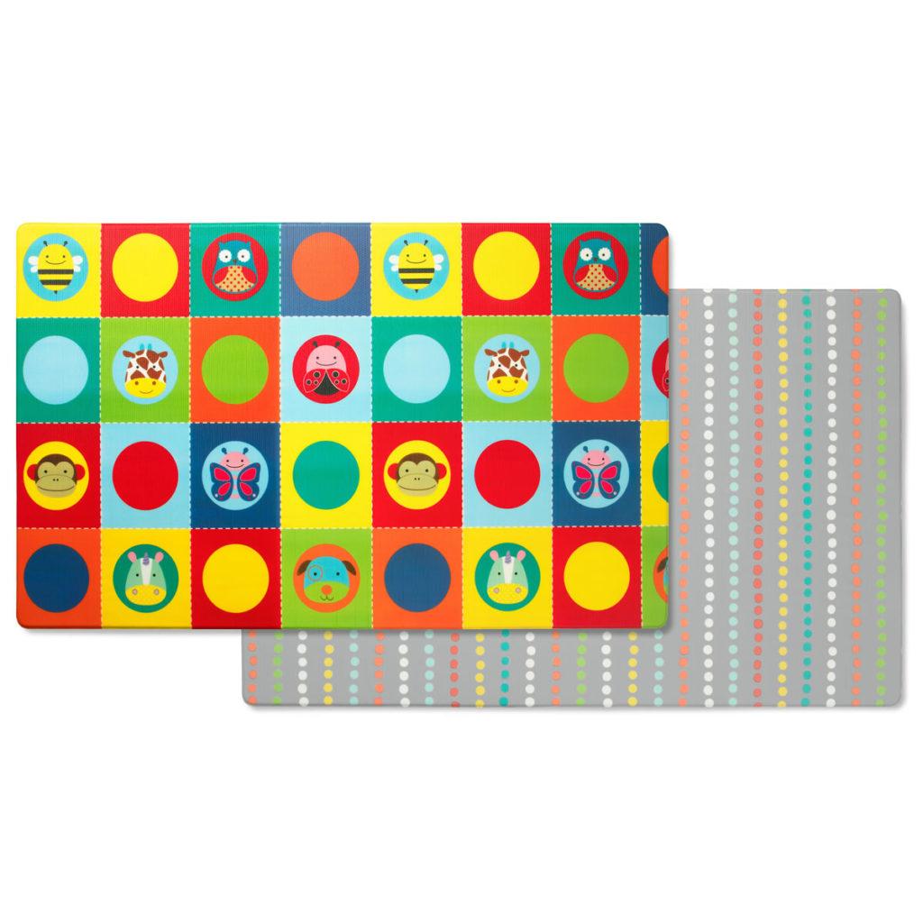 Купить Напольный двусторонний коврик Playmat - Зоопарк, Skip Hop