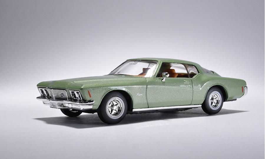 Коллекционная модель автомобиля 1971 года - Бьюик Ривьера GS, 1/43Винтажные модели<br>Коллекционная модель автомобиля 1971 года - Бьюик Ривьера GS, 1/43<br>