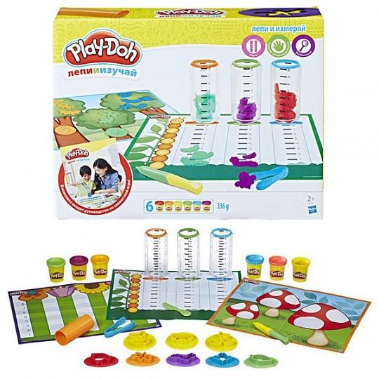 Игровой набор Play-Doh - Сделай и измерьПластилин Play-Doh<br>Игровой набор Play-Doh - Сделай и измерь<br>