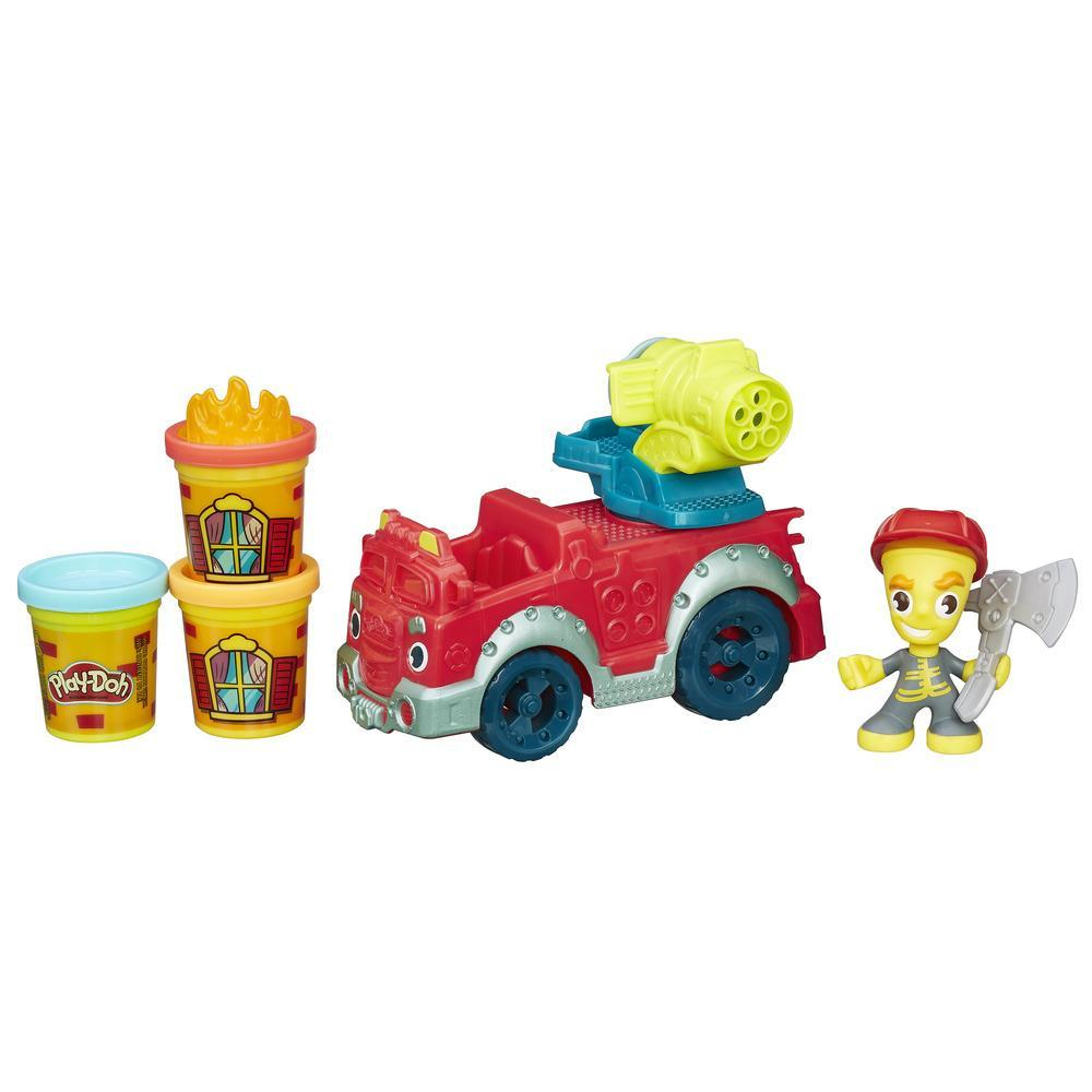 Play-Doh Игровой набор «Пожарная машина» из серии Город - Пластилин Play-Doh, артикул: 135109