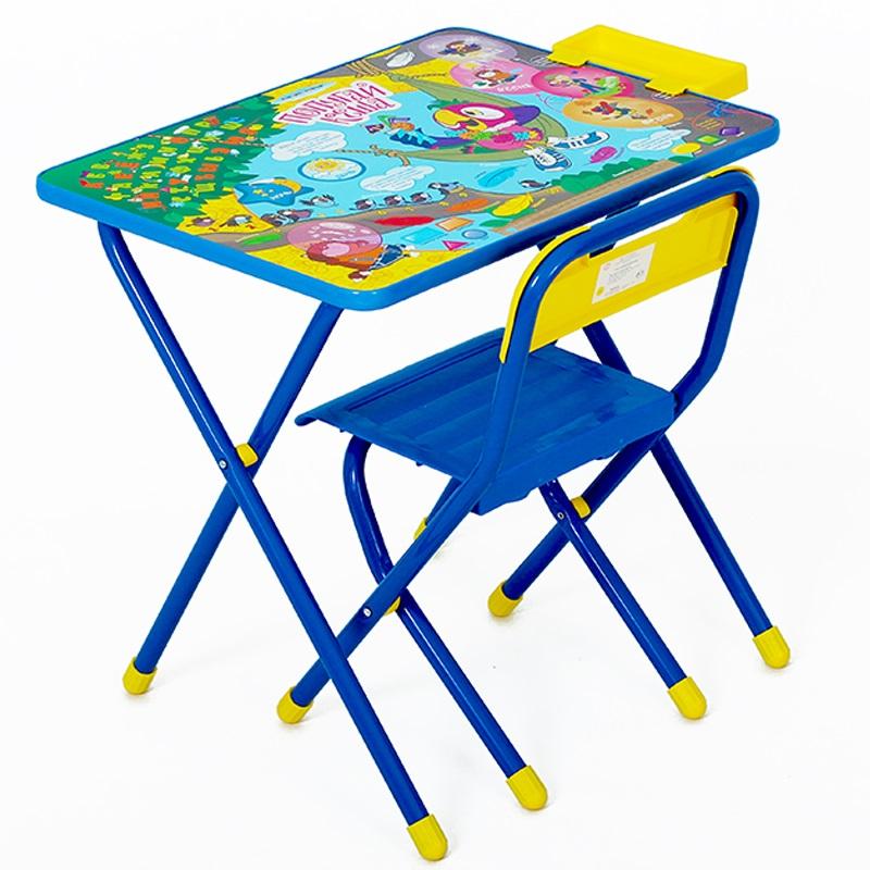 Набор детской мебели №3 Попугай Кеша, синий от Toyway